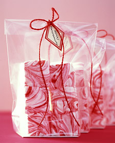 Christmas candy cane marshmallows