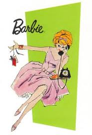 barbie on telephone