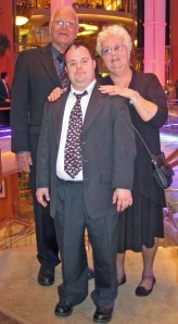 Mike Mom Dad Formal night