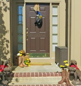 BBQ blog front door