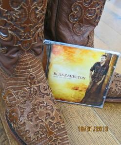 Blake shelton cowboy boots