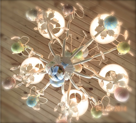 Easter kitchen ceiling light fixture