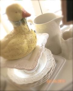 easter kitchen duck