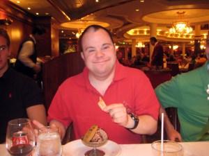 Mike loves dessert
